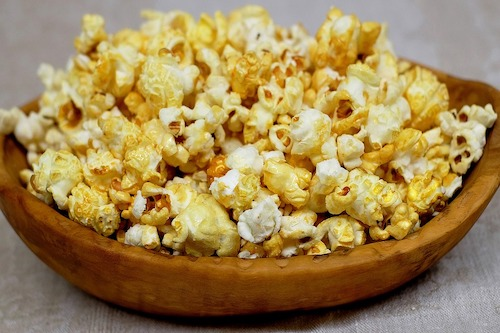 Popcorn is bad for your teeth